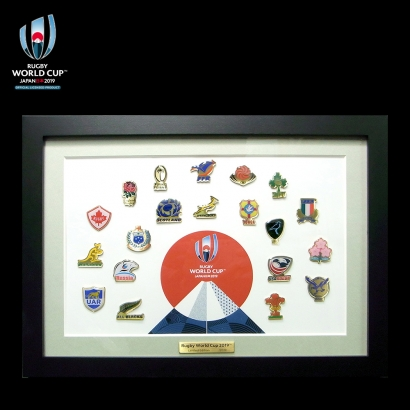 Rugby World Cup 2019™, Japan 20ヶ国コレクションピンズ